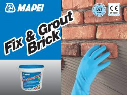 FIX & GROUT BRICK